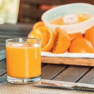 Smoothie de Mandarina-Naranja (Refrescante)