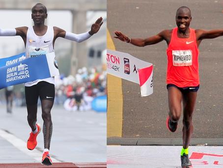 Dos keniatas ganadores de la Maratón de Berlín y de Buenos Aires. Coincidencia? NO! Y te contamos po