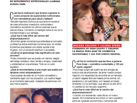 Aleksa Care en revista Marie Claire