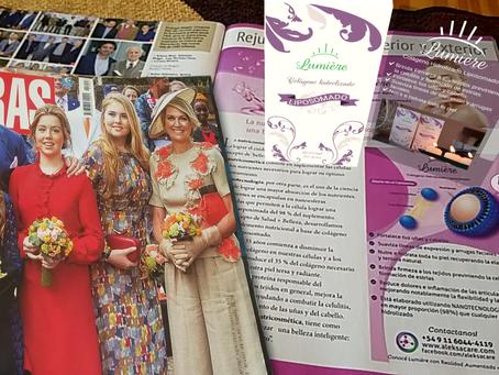 Publicidad 1ero de Mayo en Revista Caras