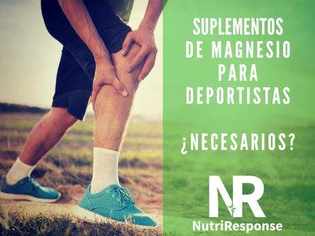 Suplementos de magnesio para deportistas ¿Necesarios?
