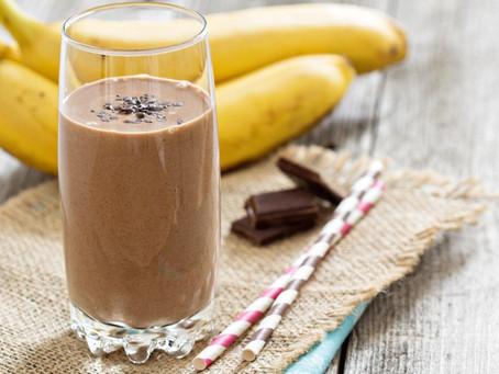 Smoothie de Chocolate y Banana (Energía)