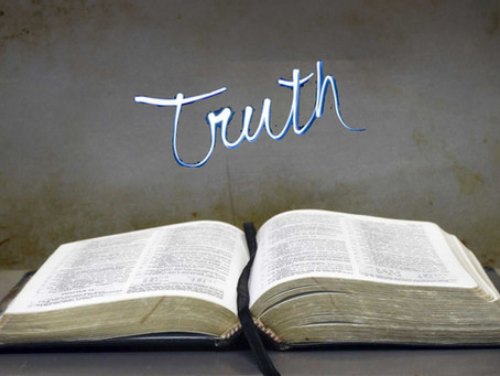 'Buy the truth and sell it not' Proverbs 23:23