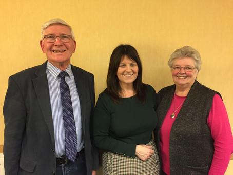 Jeannie Graham Visits Midweek Meeting