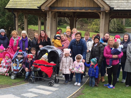 Montalto Walk for Parents and Toddlers