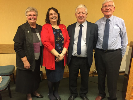 Leprosy Mission Visits Midweek Meeting