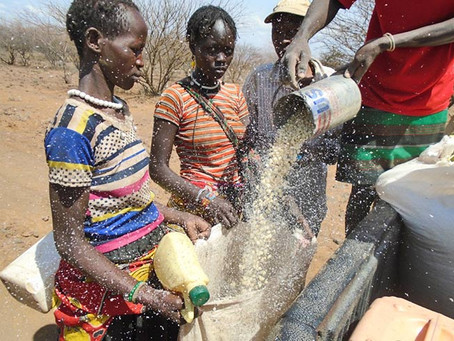 Famine Relief for East Africa