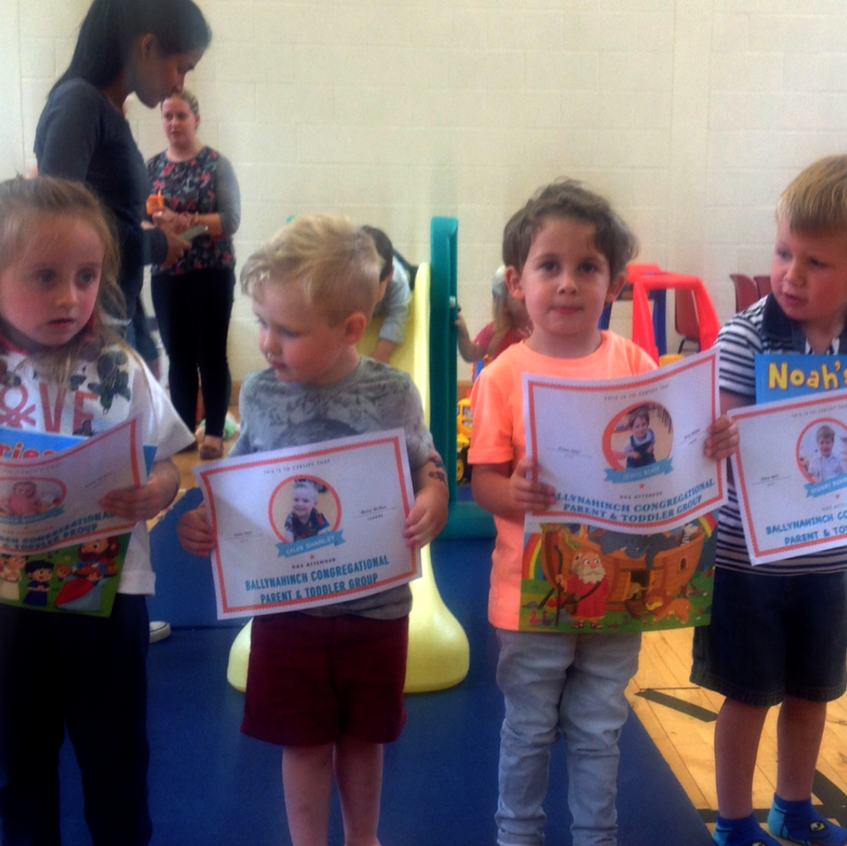 Parent and Toddlers Graduation