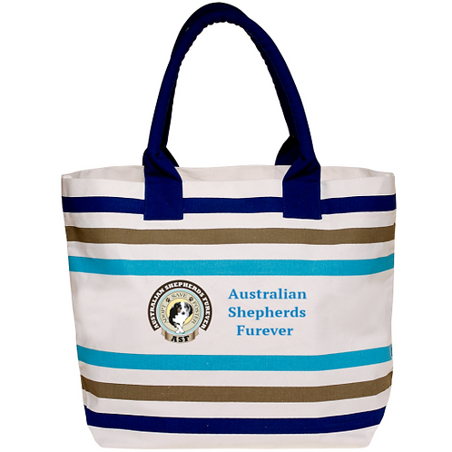 Canvas Gusset Seaside Tote
