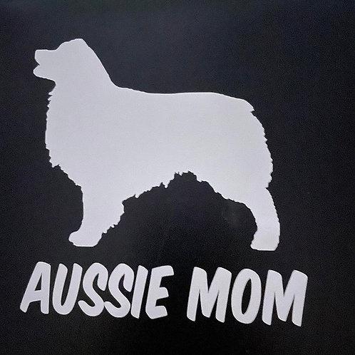 Aussie Mom Car Decal