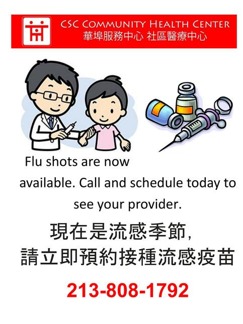 Vaccine Flyer 2019