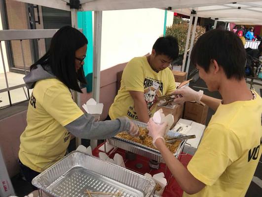 CSC Youths Work for food _ Firecracker