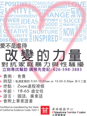 DV Survivor Group Flyer (CHINESE)_Zoom1.