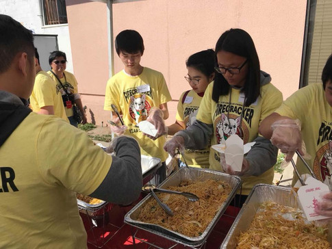 CSC Youths Work for Noodle _ Firecracker
