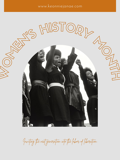 Women's History Month: Lesson Bundle