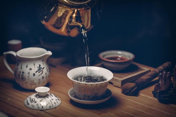 Opções de chá para uma boa noite de sono
