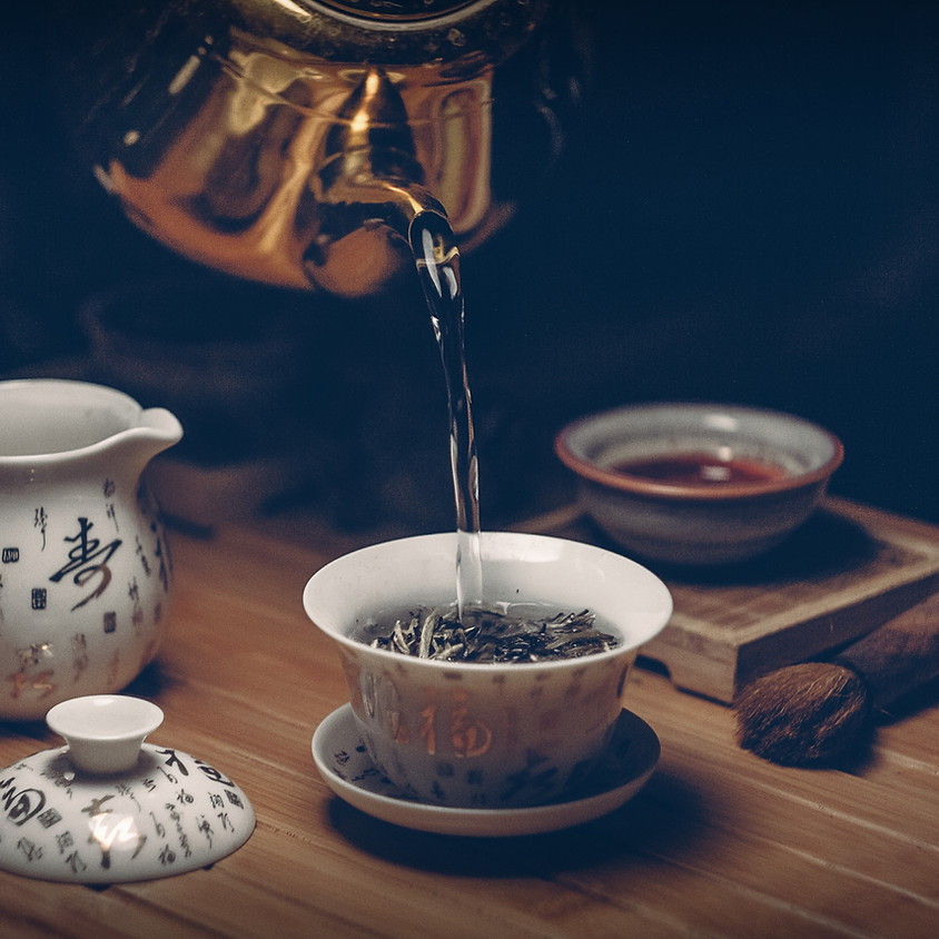 O universo dos chás chineses