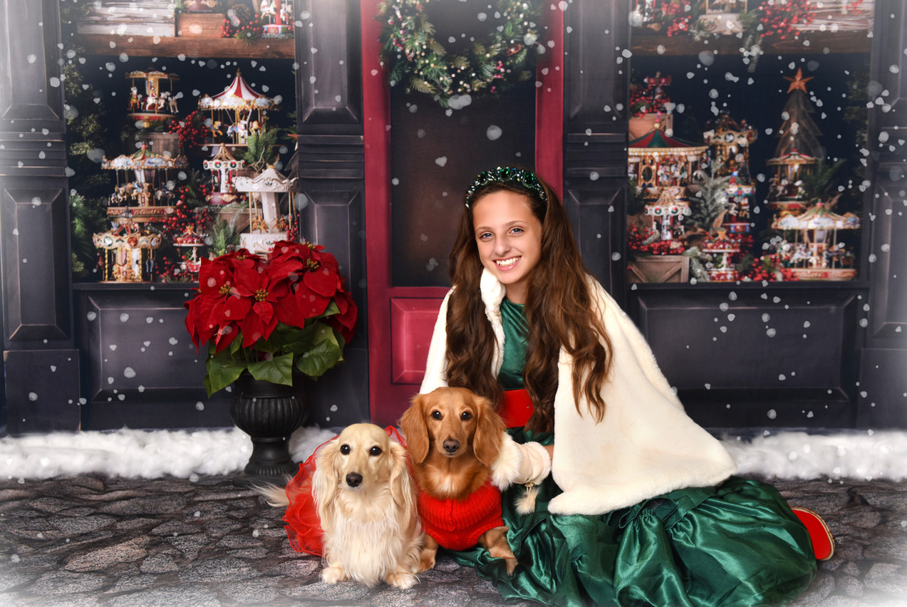 best holiday portraits st petersburg