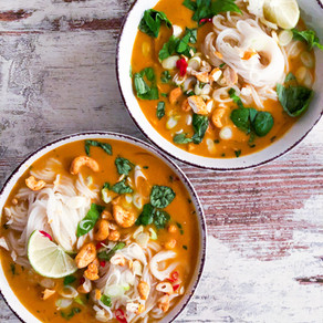 Thai Red Curry Chicken&Noodles