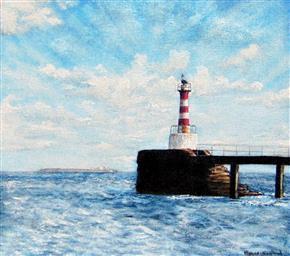 Amble Pier Lighthouse