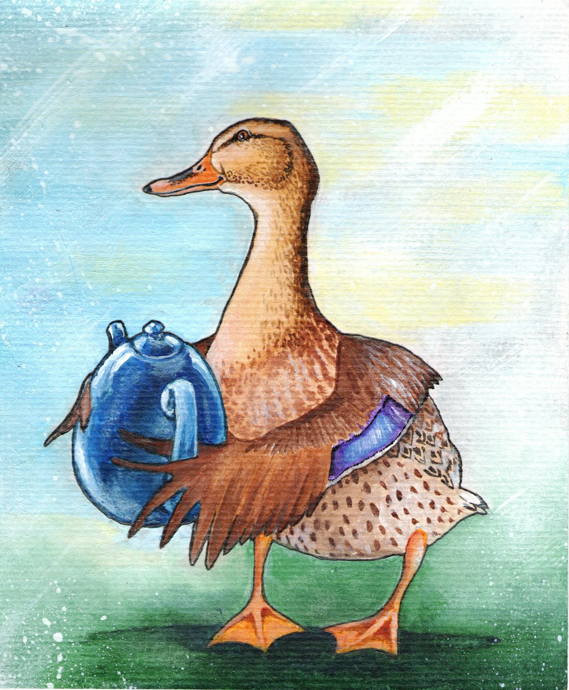 more tea, ducky