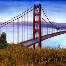 Carina Golden Gate Bridge 2017