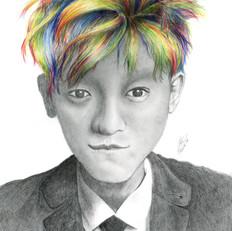 Grace Pencil Sketch Guy