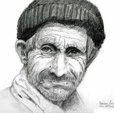 Benson Old Man Sketch