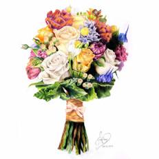Grace Flower Bouquet 2017