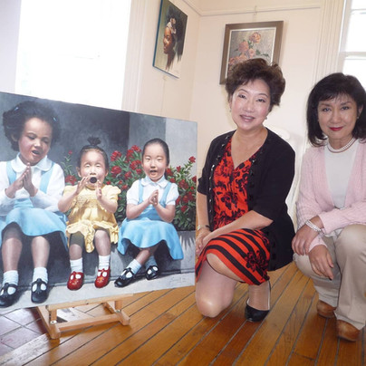 My sister Mrs. Teresa Ho