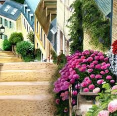 Charisa Flower Street Scene March 2014