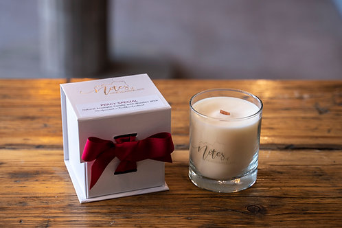 Wood Wick Candle - Percy Special