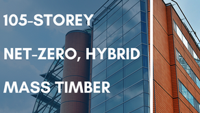 DIALOG Pitches 105-storey Net-Zero, Hybrid Mass Timber Tower
