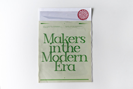 MAKERS in the MODERN ERA