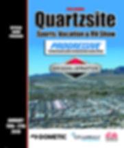 2019 Quartzsite RV Show Program