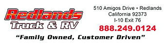 Redlands is a proud silver sponsor of the Quartzsite RV Show