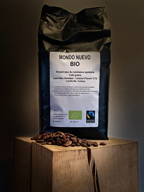 Café BIO 1KG en grains - Fairtrade