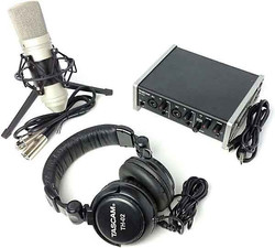 Pack con interfaz de audio