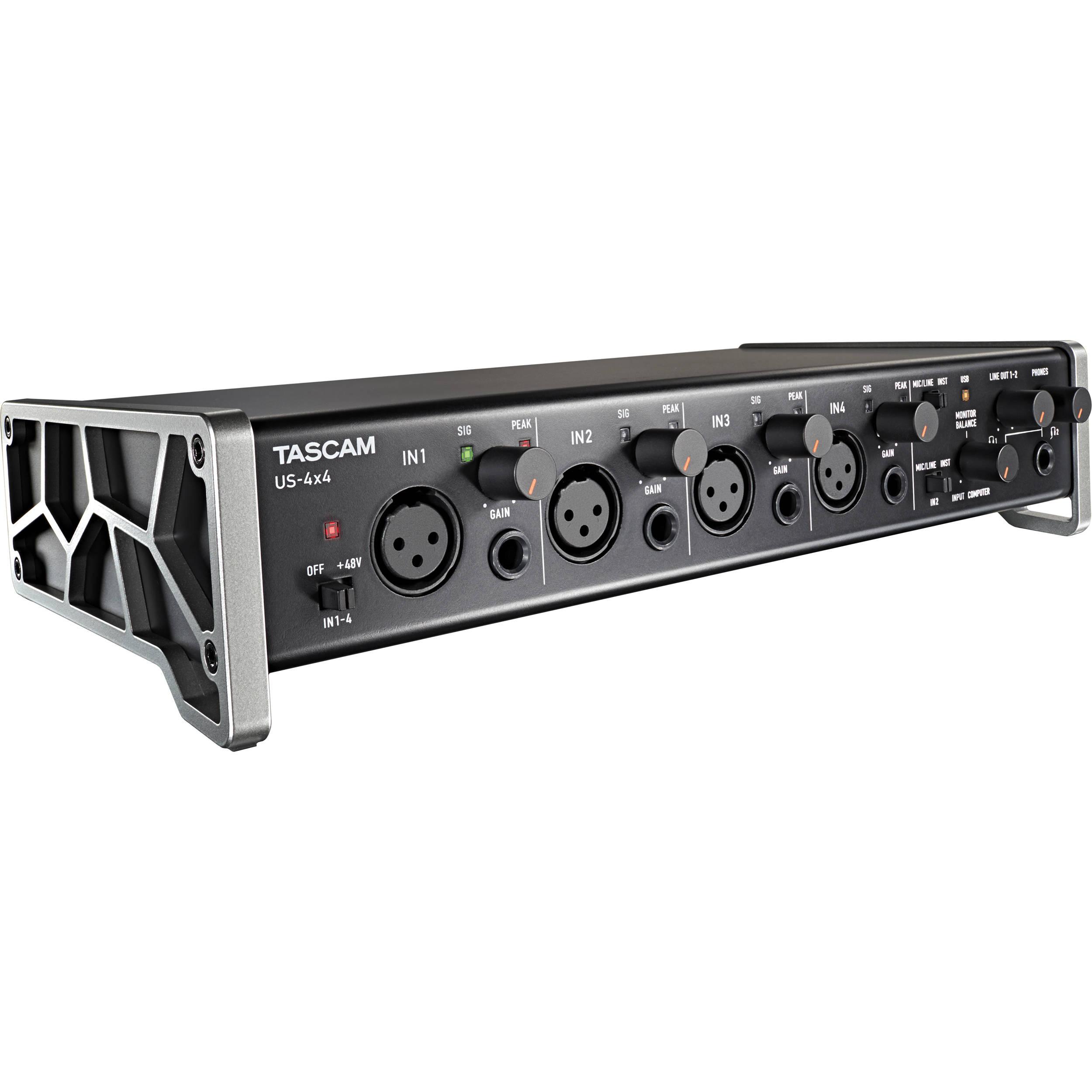 Interfaz de Audio 4 canales