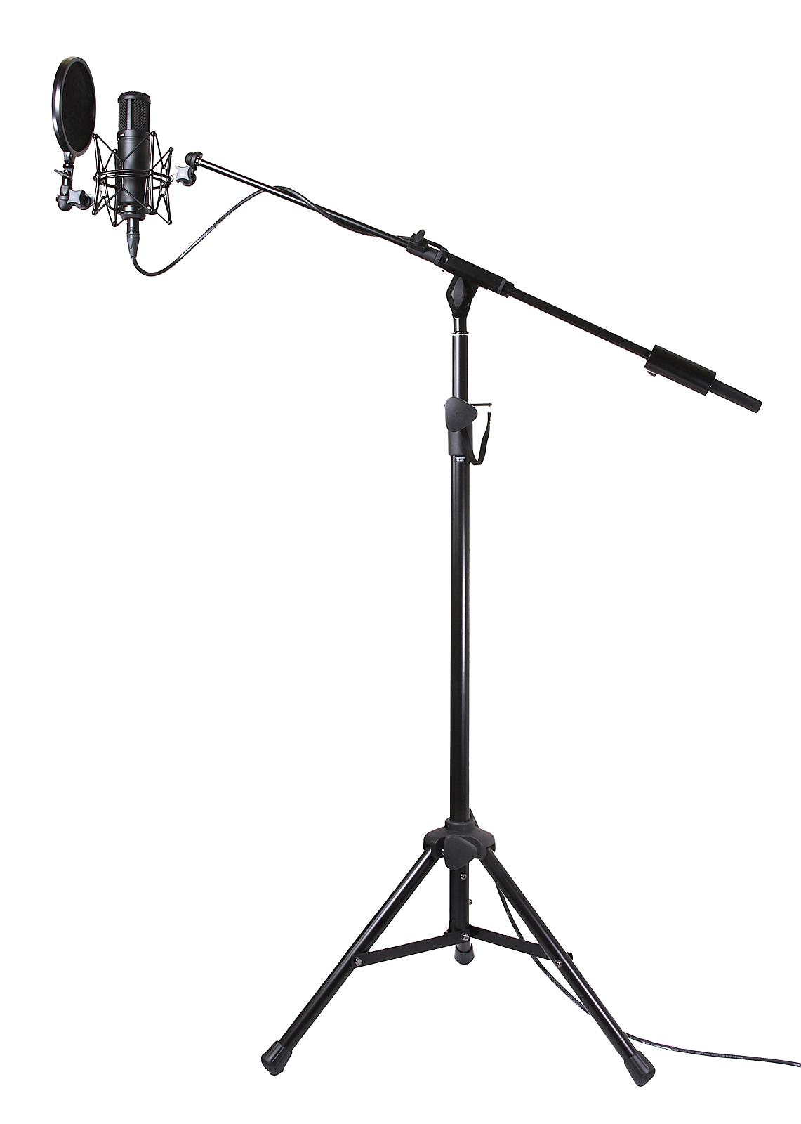 Atril micrófono de estudio
