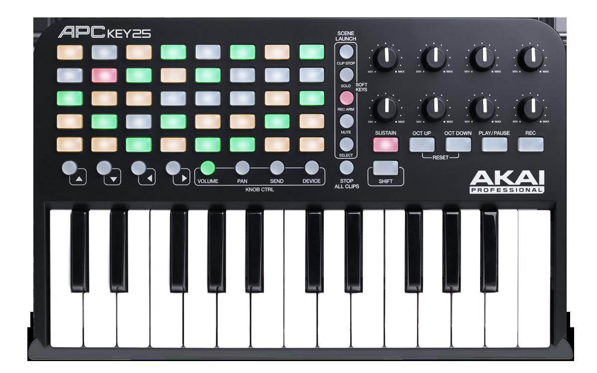 Teclado y controlador MIDI US