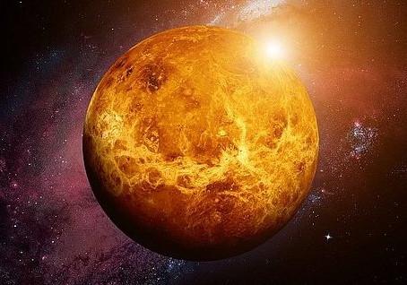 O planeta mais quente do Sistema Solar