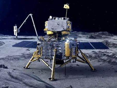 Chang'e-5, a missão chinesa na Lua