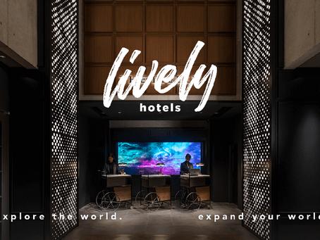 【プレスリリース】グローバルエージェンツが直営ホテル11施設1,200室のアンブレラ・ブランド「LIVELY HOTELS」を新たに発表(21.07.01)