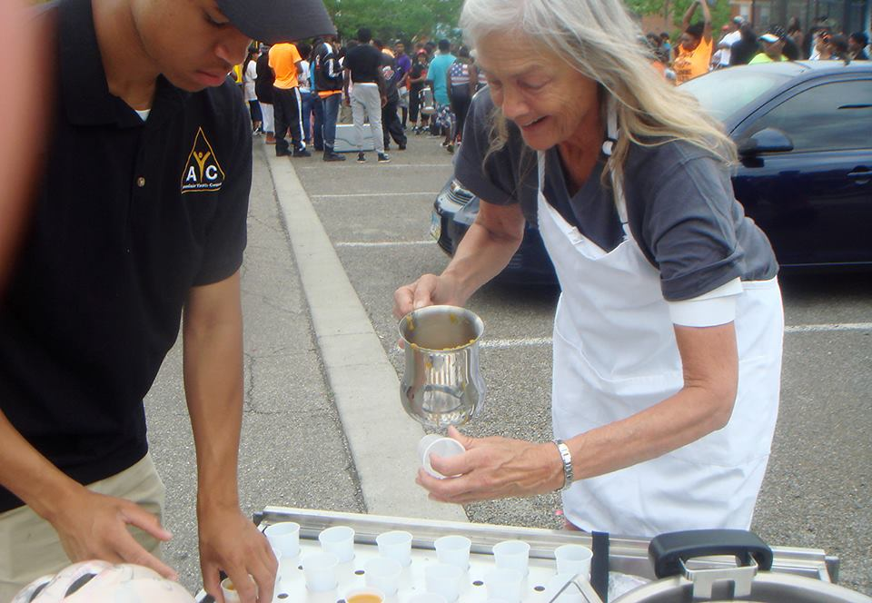 Founder, Harriet Serving Soup