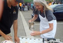 Founder, Harriet Serving Soup