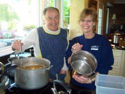 Preparing Soup