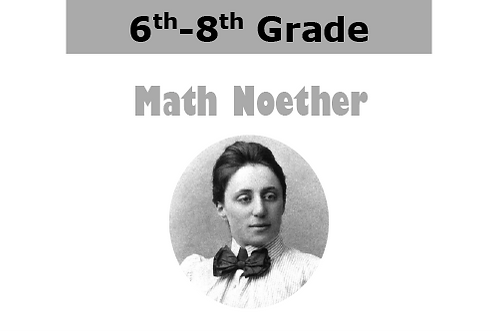 Math Noether (1.25 hr/9 wks)