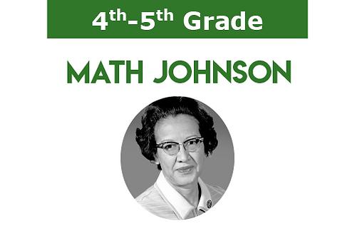 Math Johnson (1 hr per week)
