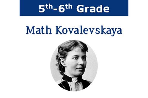Math Kovalevskaya (1 hr/9 wks)